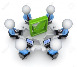 15614524-Teamwork-concept--Stock-Photo-computer-people-corporate